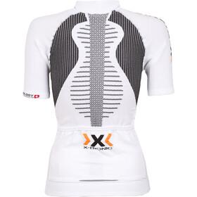 X-Bionic The Trick Fahrrad Trikot SS Full-Zip Damen white/black
